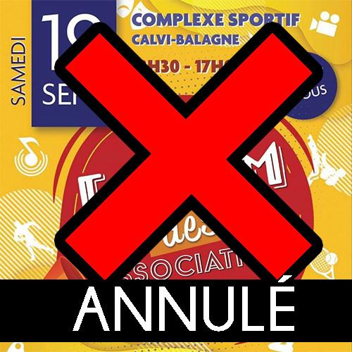 Forum de associations ANNULE